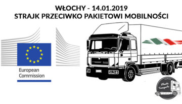 Włosi Strajkują przeciwko Pakietowi Mobilności - ciężarówki nie wyjadą na drogi