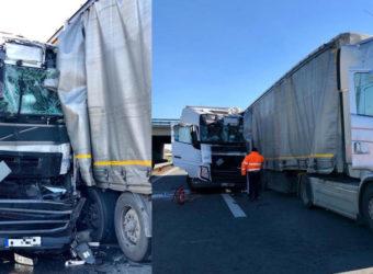 Kierowca ciężarówki z Polski ciężko ranny po wypadku na niemieckiej A2