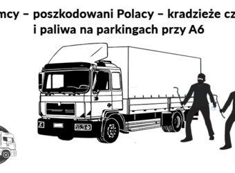 Niemcy – poszkodowani Polacy – masowe kradzieże części i paliwa na parkingach przy A6