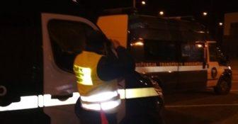 WITD – nocne kontrole zezwoleń na A2 – sprawdzono 51 pojazdów