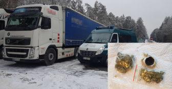 WITD – woreczki z marihuaną w kabinie litewskiej ciężarówki – kierowcy grożą 3 lata więzienia
