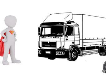 Niemcy – Kierowcy ciężarówek uratowali pijanego rowerzystę jadącego po A23