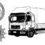 Sukces Polizei i Polskiej Straży Granicznej – odnaleziono skradzioną ciężarówkę