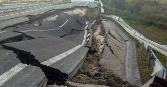 Niemcy – To nie koniec problemów z A20, droga zapada się w dwóch kolejnych miejscach