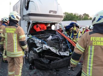 Niemcy – kierowca polskiego pojazdu dostawczego ciężko ranny – dramatyczna akcja ratunkowa