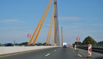Niemcy – nowa waga w kierunku Venlo już aktywna – Most na Renie Neuenkamp (A 40)